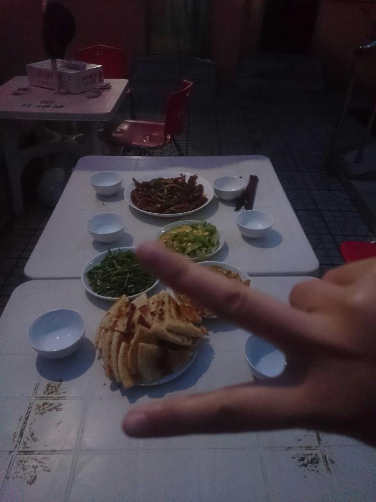 我们的晚餐